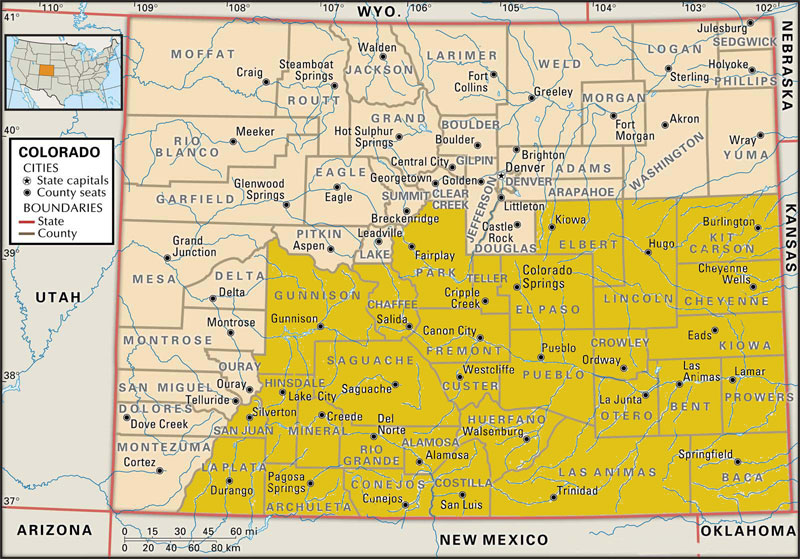 swift-bankruptcy-law-attorney-southern-Colorado-service-area-map
