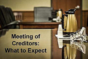 In Colorado, whether you file under Chapter 7 or Chapter 13, you are required to attend a creditors meeting.