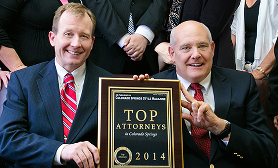 Voted a Colorado Springs Colorado Top Bankruptcy Attorney in 2014